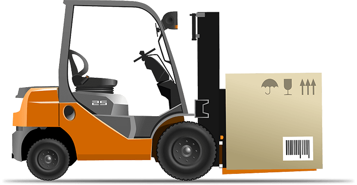 Forklift Logo | logistics companies in Gurgaon, Haryana, india, 3pl companies in Gurgaon, Haryana, india, transport companies in Gurgaon, Haryana, india, returnable packaging, logistics services providers, Track Your Shipment. Logistic and Transport Track System.