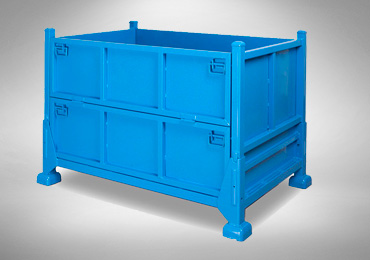 Vinsum Axpress Metal Foldable Container Image | logistics companies in Gurgaon, Haryana, india, 3pl companies in Gurgaon, Haryana, india, transport companies in Gurgaon, Haryana, india, returnable packaging, logistics services providers, Best Metal Foldable Container Manufacturing Companies in India.