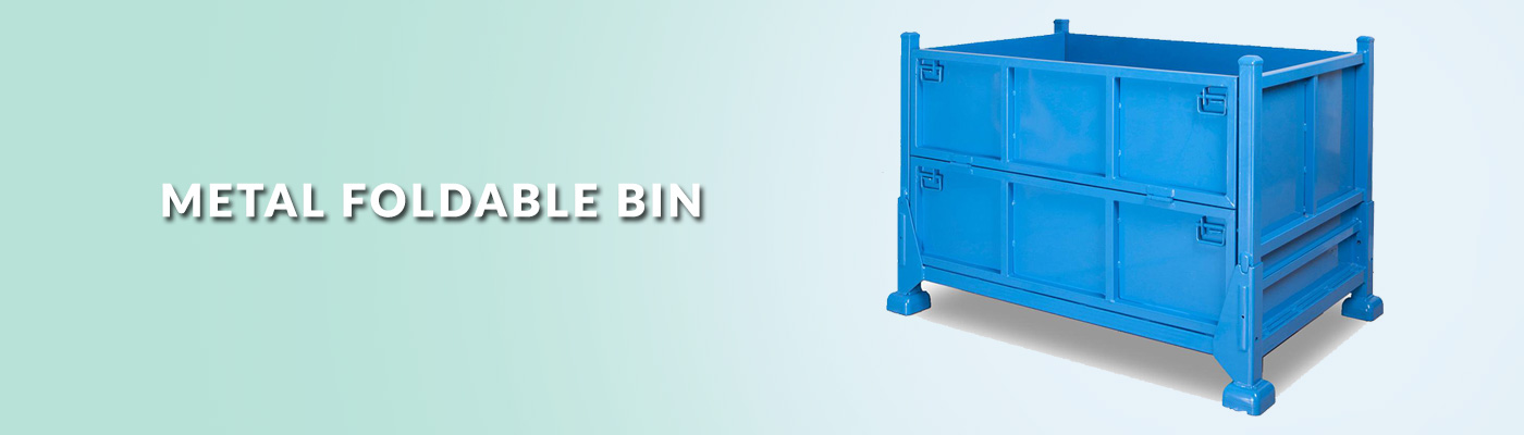Vinsum Axpress Metal Foldable Container Manufacturing Companies in India.